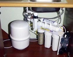 Установка фильтра очистки воды в Элисте, подключение фильтра для воды в г.Элиста